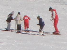 おじろスキー場にて