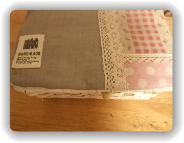 裁縫箱リメイク