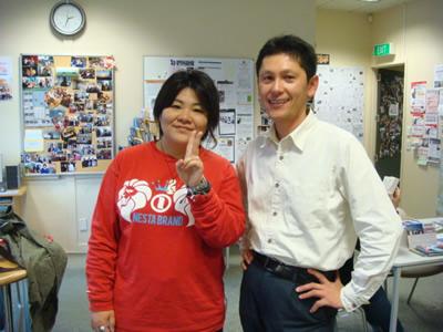 朝佳さんと小西さん26Jun09