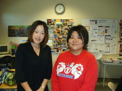 朝佳さんと私26Jun09