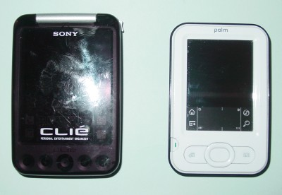 ClieとPalm01