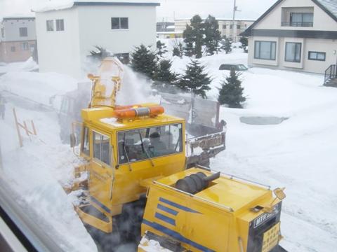 排雪の作業2