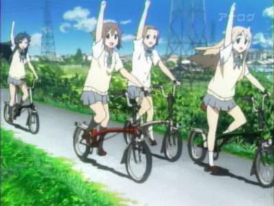けいおん!OP自転車