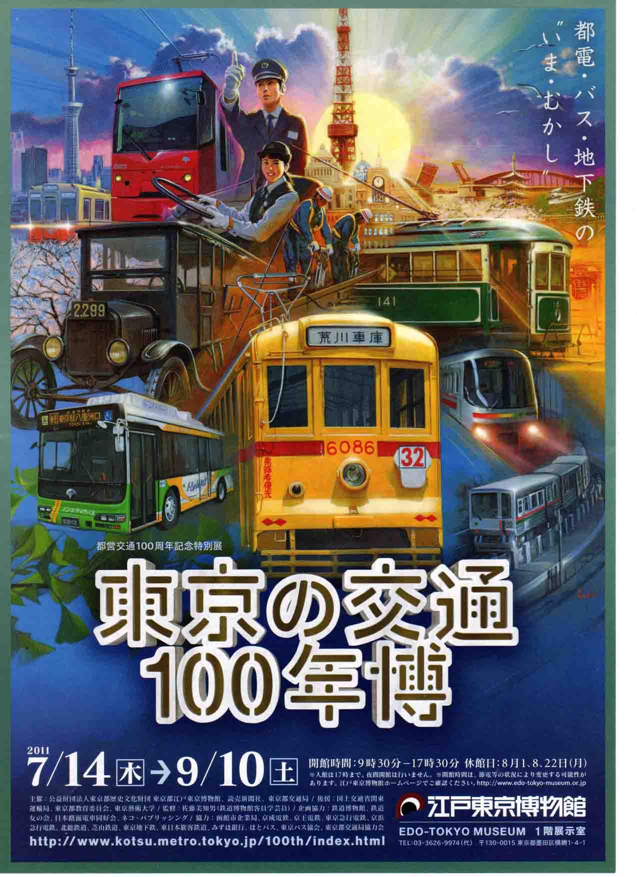 東京の交通100年博001A