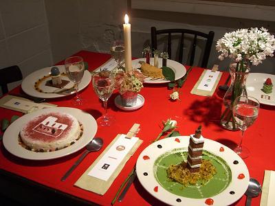 お菓子テーブル2