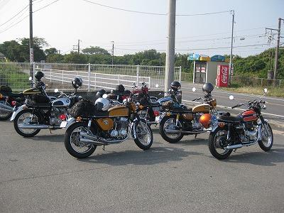 参加バイク