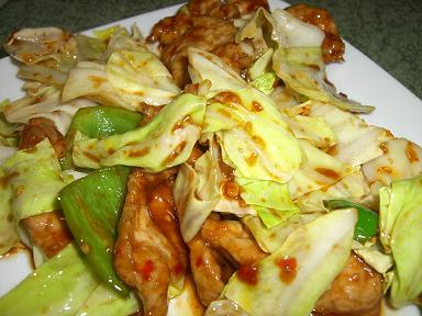 牛肉野菜炒め