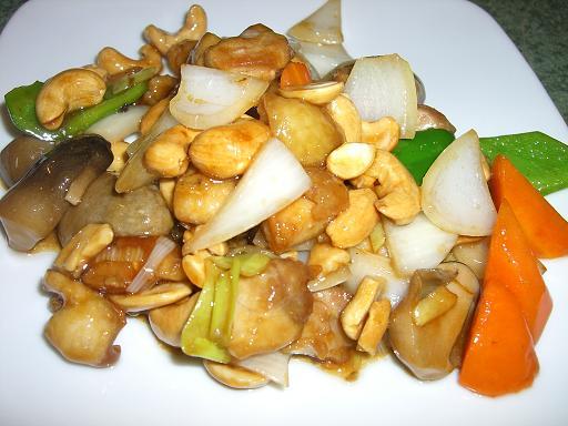 鶏肉カシューナッツ