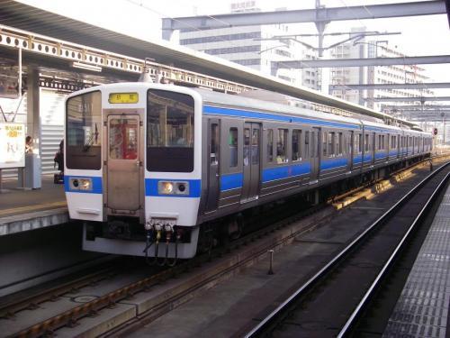 吉塚にて415系1500番台Fm1517編成の福北ゆたか線快速