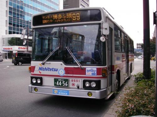 那珂川8501の99番。那珂川最古参の割には今も動いている