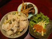 ネマガリダケ料理