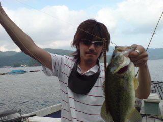 20080719 ジャイアントミールで釣れました