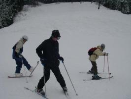 空楽山スキー練試会