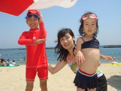 2008.7 須磨の海2