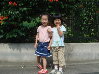 2008.7 Aちゃんと1