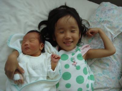 2008.8.19 生まれ Yちゃん2