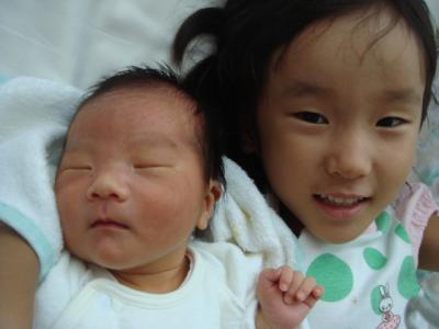 2008.8.19 生まれ Yちゃん3