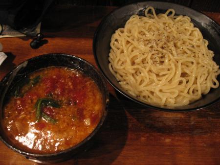 トマトつけ麺セニョリータ