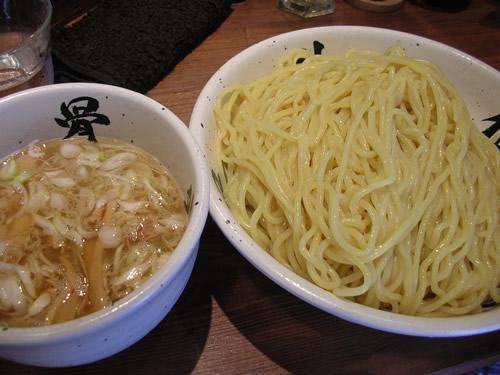 麺屋武蔵 武骨外伝 つけそば 味玉 スープ割 渋谷