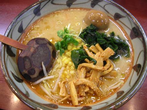 味噌一 三鷹店 味噌ラーメン 細麺 太麺 高円寺 荻窪