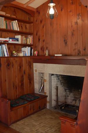 ヴォーリズ六甲山荘 暖炉
