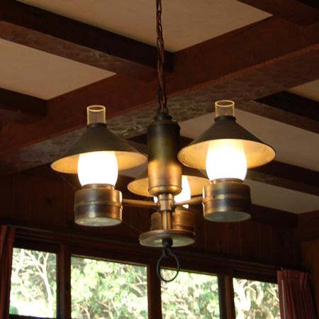 ヴォーリズ六甲山荘 照明