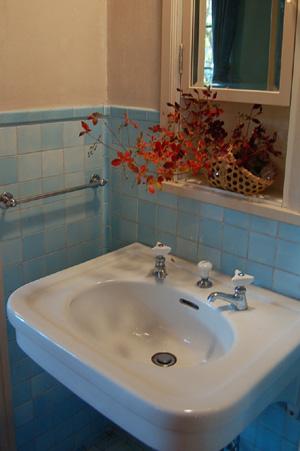 ヴォーリズ六甲山荘 洗面台