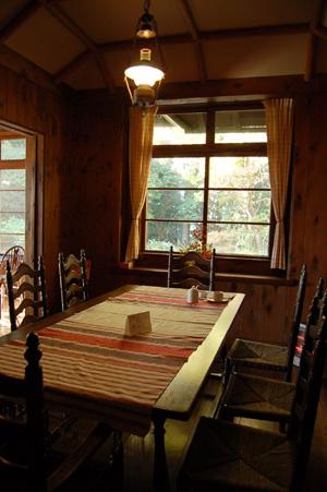 ヴォーリズ六甲山荘 食堂