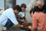 白菜の種まき(種まき、武山さん)