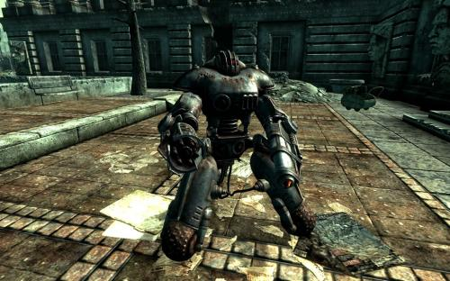 Enclave Commander Sentry Bot