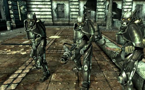 Enclave Commander assault squad