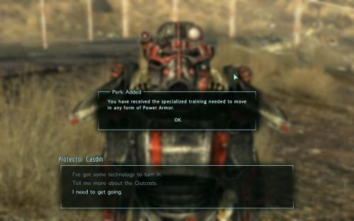 Multiple Ways to Attain Power Armor Training 1