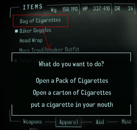 UsableCigarettes bag