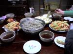 同居人の実家で頂いた…手打ち蕎麦・うどん。凄い量でしたが、私も凄い量食べました!(ぁ