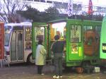 会津の門田町ベニマルに大抵居るはずの、青ばと豆腐のおからドーナツ屋さんが何故か福島駅前に!?