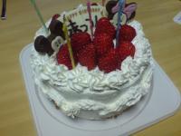 手作り生クリームケーキ