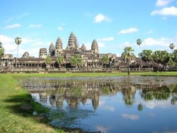 カンボジア(アンコールワット)1
