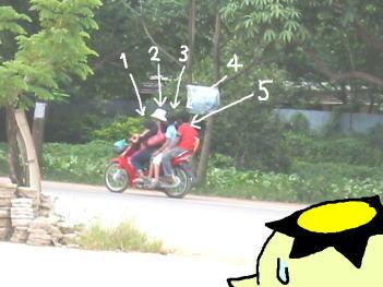 カンボジア(バイク)1