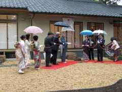 20081108茶室開き