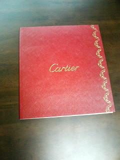 cartierカタログ