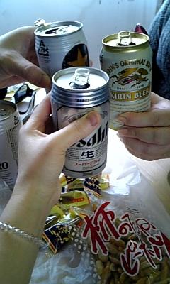 090110スタートビール