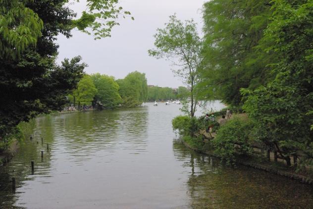 石神井公園ポタ