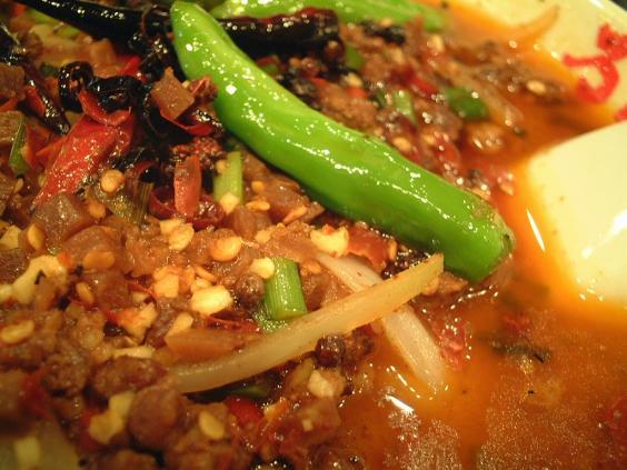 ヨドバシアキバ万豚記日本一辛い担々麺