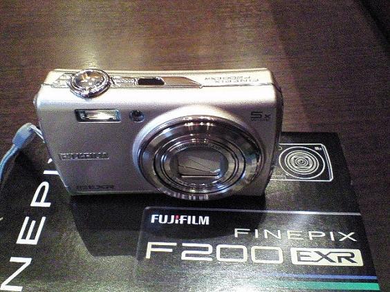 FinePix F200EXR初撮り