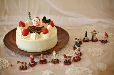 クリスマスケーキ 生クリーム