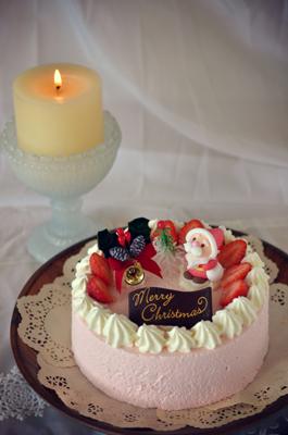 クリスマスケーキ 天使の苺