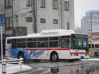 名鉄バス 三菱ふそう エアロスター・エコハイブリッドバス