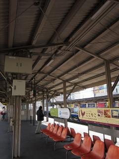 安城駅ホーム