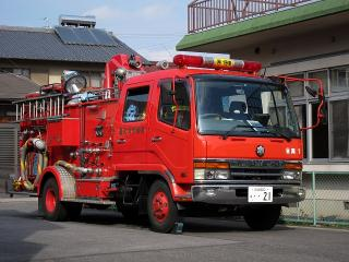 東消防署 南分署 水そう付消防ポンプ自動車 三菱KC-FK618GZW