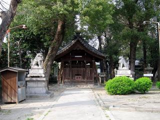 椿神明社の狛犬